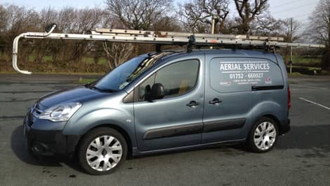 Aerial Services Plymouth - Van